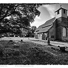 The Church of St.Mary Buttsbury by Peter Tachauer