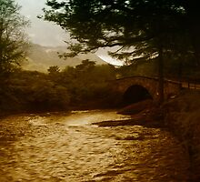 Bridge at River Coe by Mark Denham