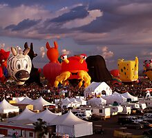 The Essence of Albuquerque Balloon Fiesta by Paul Albert