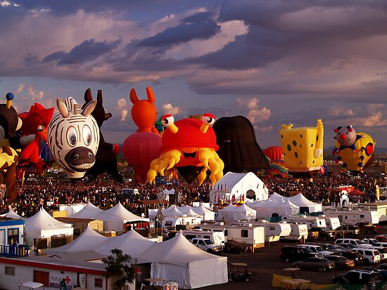 The Essence of Albuquerque Balloon Fiesta by Paul Albert