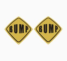 BUMP BUMP road sign tee by DAdeSimone
