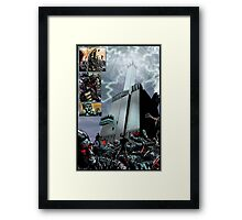 PART 11 - The trap is sprung Framed Print