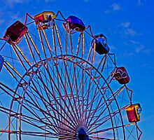 Twisty Ferris Wheel by Buckwhite