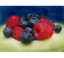 Yummy for the tummy... Photographic Print