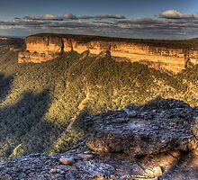 Mind Your Step- Kanangra Walls Lookout, Blue Mountains World Heritage Area - The HDR Experience by Philip Johnson