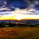 Zugerberg Sunset HDR Panorama by Luke Griffin