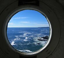 Portland Headlight - A View from Inside by MaryinMaine