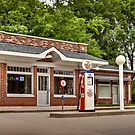 1933 Prairie Style Service Station &amp; Cafe by Zunazet
