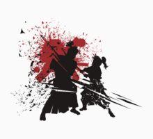 Samurai Duel by elangkarosingo