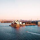 Harbor Bridge Panorama by kaledyson