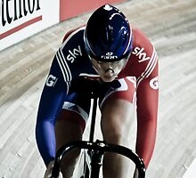 Jess Varnish World Track Championships Apeldoorn 2011 by Paul  Sloper