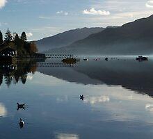 Loch Goil, Argyll, Scotland by Lynn Bolt