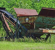 Rusty Conveyer by Sheryl Gerhard