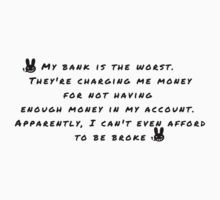 Can't afford to be broke by Dallas Kempfle