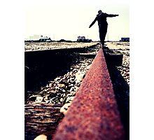 His Balance Photographic Print