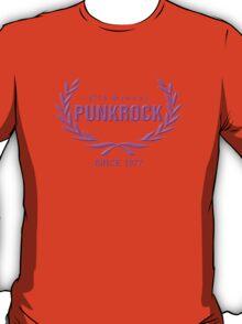 Girly: Old School PUNKROCK Since 1977 (in Pink) T-Shirt
