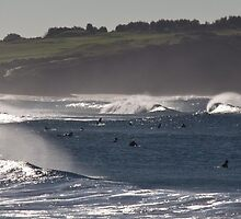 Lefts Line Up by Tim Oliver