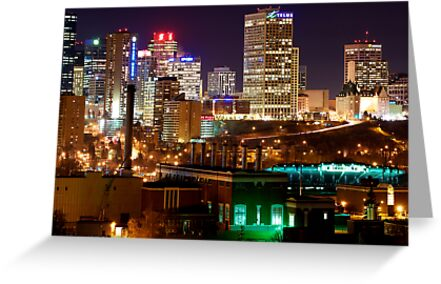 Edmonton Skyline by Mark Iocchelli