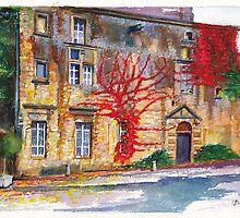 Le Vaux, France by Dai Wynn