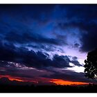 the sunsets after the storm by Damian Gobbo