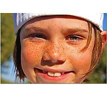 Gavin: 2092 Freckles Photographic Print