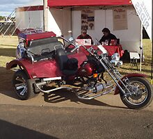 Trike Adventures Dubbo Custom 3 seater OzTrike Touring Trike TRIK3 by Joe Hupp