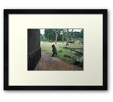 IT TO COLD OUT HERE I'M GOING IN Framed Print