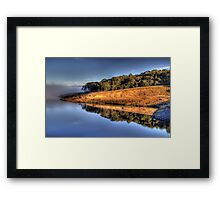 In A Reflective Mood - Oberon Dam, Oberon,NSW Australia - The HDR Experience Framed Print