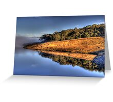 In A Reflective Mood - Oberon Dam, Oberon,NSW Australia - The HDR Experience Greeting Card