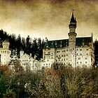 The castle in the mountains by eugenz