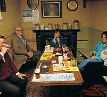 Tucker's Grave pub, Somerset, UK, 1980's by David A. L. Davies