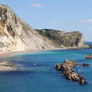 Man of War Bay, Dorset by Photography  by Mathilde
