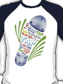 Tap Shoe Color T-Shirt