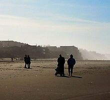 *Oregon Coast Beach Scene* by Barbara Summering