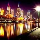 Yarra Reflections by Lynden