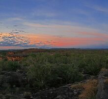 Ubirr Rock Sunset, Kakadu National Park by Bradd Munn