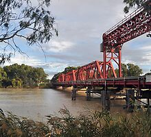 Paringa lift span bridge by Ian Berry