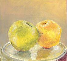 Apple & Orange by Gibson