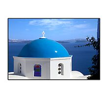 Greetings from Greece Photographic Print