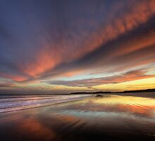 Reflected Sunset by Heather Prince