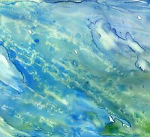 Under the Sea Abstract by Rosie Brown