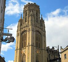 The Wills Tower, Bristol, UK by buttonpresser