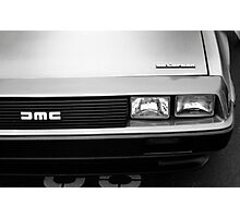 DeLorean DMC-12 Photographic Print