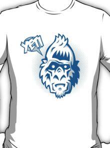Speaking Yeti Head T-Shirt