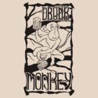 Drunk Monkey by pufahl