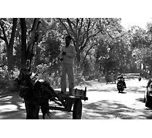 Horse Cart Riding !! - Indian Highways Photographic Print