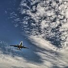 Airplane-jet landing by Tom Davidson
