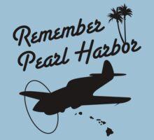 Remember Pearl Harbor (Black Ver.) by warbirdwear