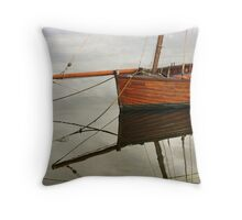 The 'Wee Dooker' At Tarbert, Kintyre ~ Argyll & Bute, Scotland Throw Pillow