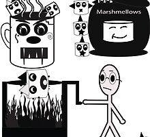 Marshmallow Massacre by rekeiaharris
